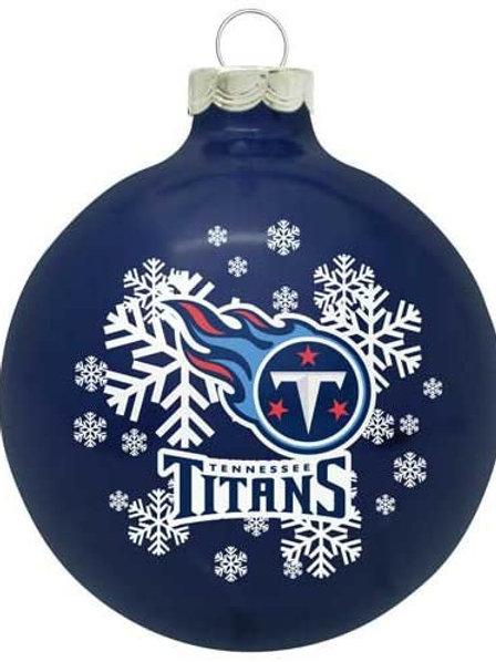 Titans Shatter-Proof Ball Ornament