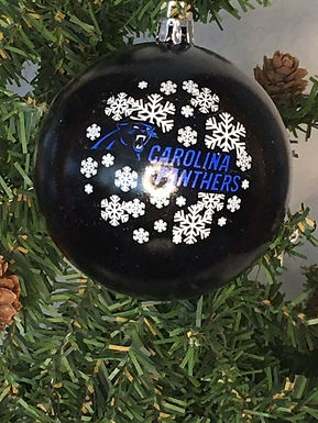 Panthers Shatter-Proof Ball Ornament