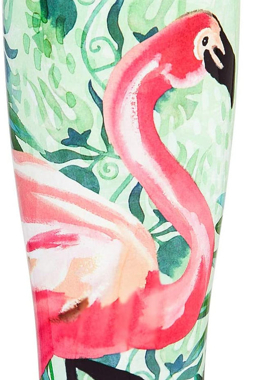 Jungle Flamingo Double Wall Steel Travel Cup