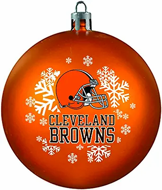 Browns Shatter-Proof Ball Ornament