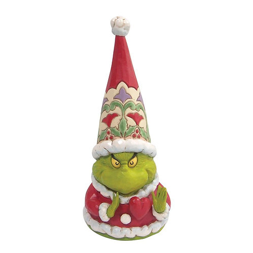 Grinch Gnome With Large Heart