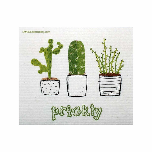 Prickly Cactus ..... Swedish Dishcloth