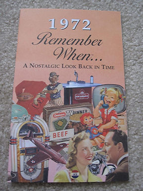1972 Remember When Kardlet