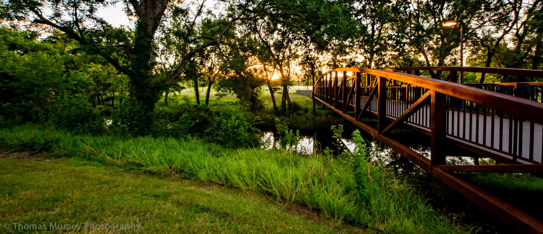 Vitruvian Park Pedestrian Bridge