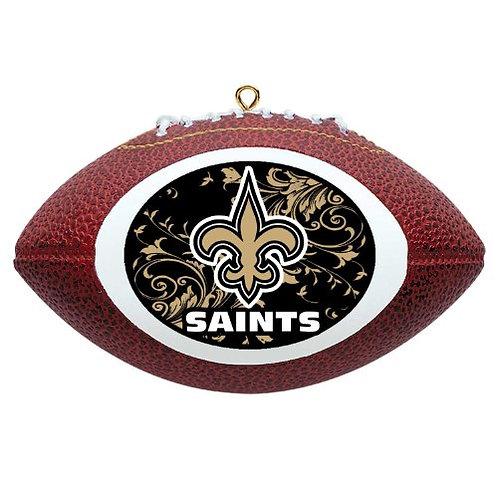 Saints Replica Football Ornament