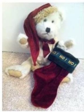 Boyds Bear Plush ..... Englebert Q. Elfberg   with stocking