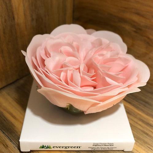Pink Rose Petal Soap
