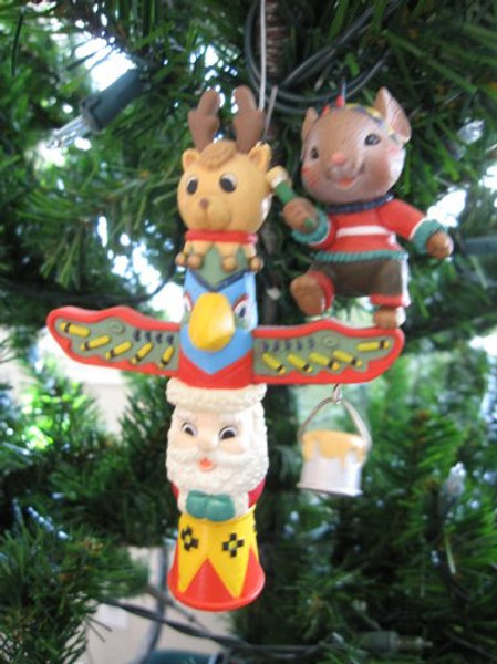 Have a Totem-ly Terrific Christmas Ornament