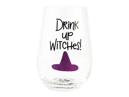 Stemless Witch Wineglass