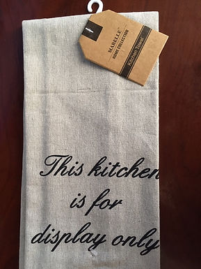 This Kitchen Is For Display Only ..... Bistro Towel