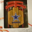 Thumbnail: Cowboys Metal Sled Ornament