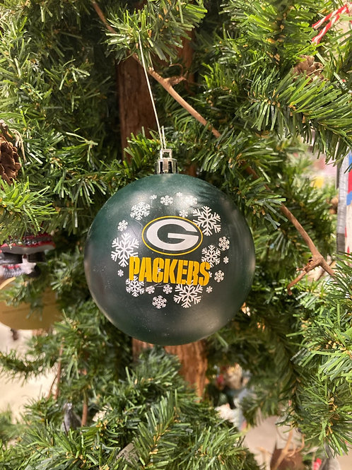 Packers Shatter-Proof Ball Ornament