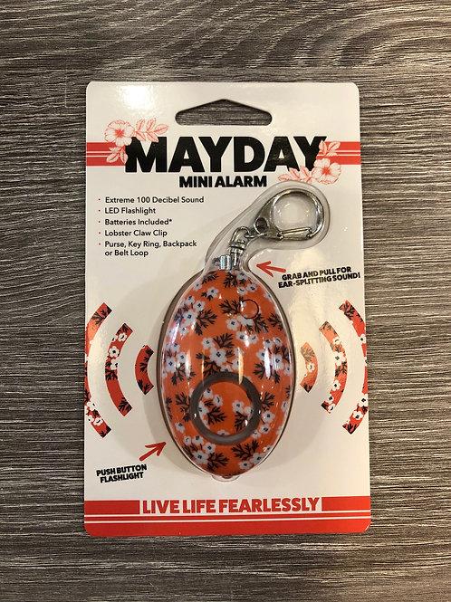 MAYDAY Mini Alarm Orange