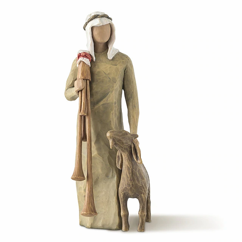 The shepard Zamopgnaro   ..... coordinates with Willow Tree Nativity #26005
