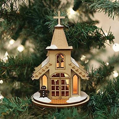 Nativity Chapel ..... Ginger Cottages Figurine / Ornament