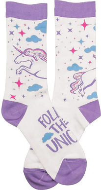 Follow That Unicorn Socks