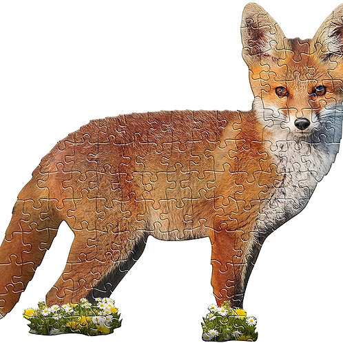 I Am Lil' Fox Puzzle by Mad Capp Puzzles