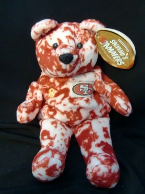 Plush Salvino's Bammers Bear ..... Steve Young