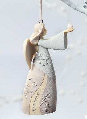 Bereavement Angel Ornament ..... Foundations by Karen Hahn