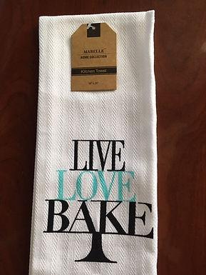 Live Love Bake ..... Bistro Towel