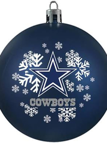 Cowboys Shatter-Proof Ball Ornament