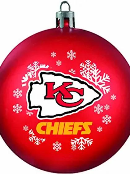 Chiefs Shatter-Proof Ball Ornament