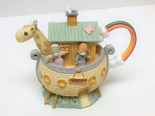 Precious Moments ......Minature Noah's Ark Tea Set