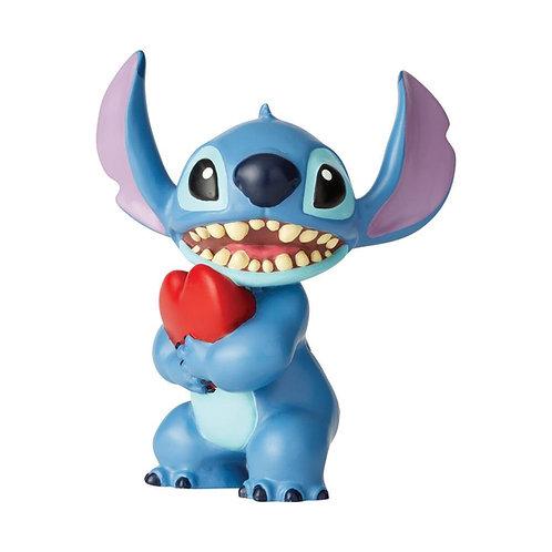 Stitch With Heart Mini Figurine