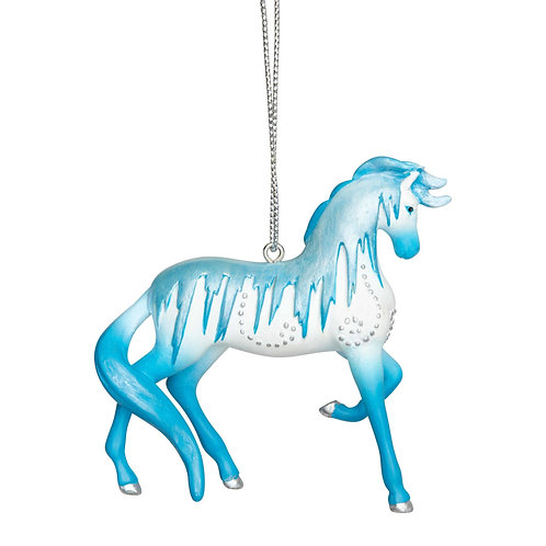 Holiday Ice Horse Ornament