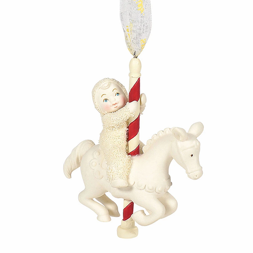 Christmas Carousel Ornament