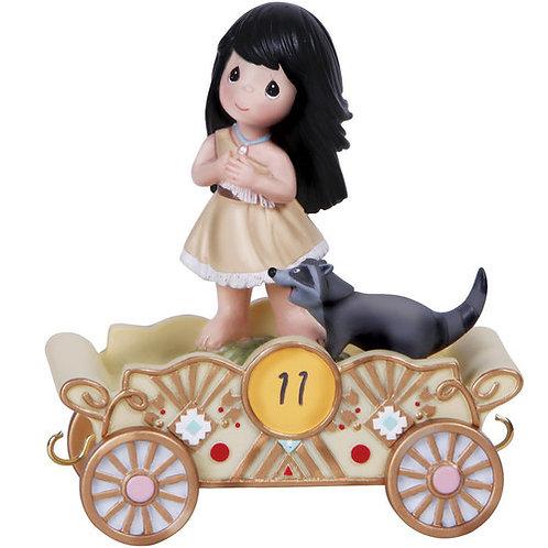 Disney Birthday Parade Listen To Your Heart ..... Pocahontas ..... Age 11