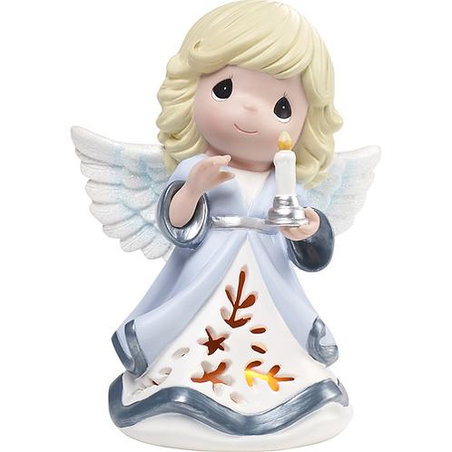 Let His Light Shine Angel LED Musical