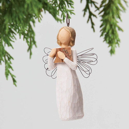 2017 Dated Angel Ornament