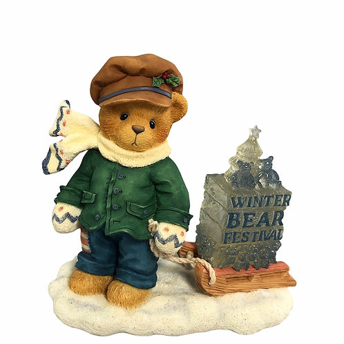 James,   Going My Way For The Holidays ....... Cherished Teddies