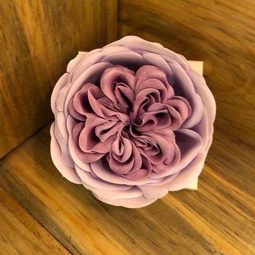 Purple Rose Petal Soap