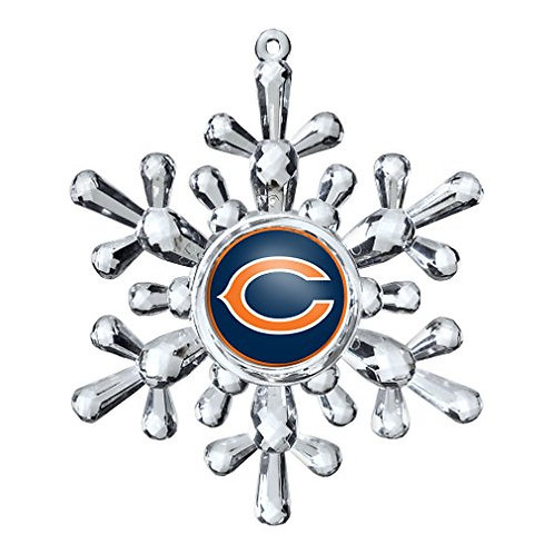 Bears Acylic Snowflake - Cut Crystal Design Ornament