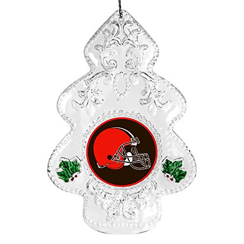 Browns Acylic Tree - Cut Crystal Design Ornament