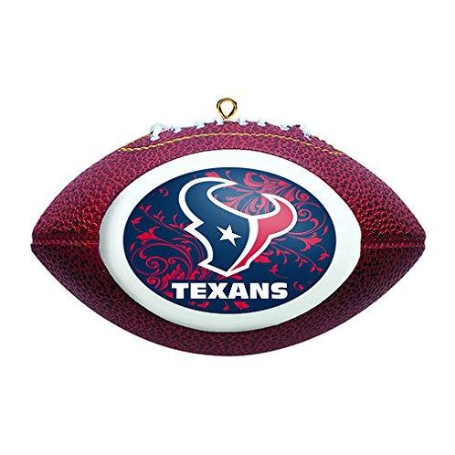 Texans Replica Football Ornament