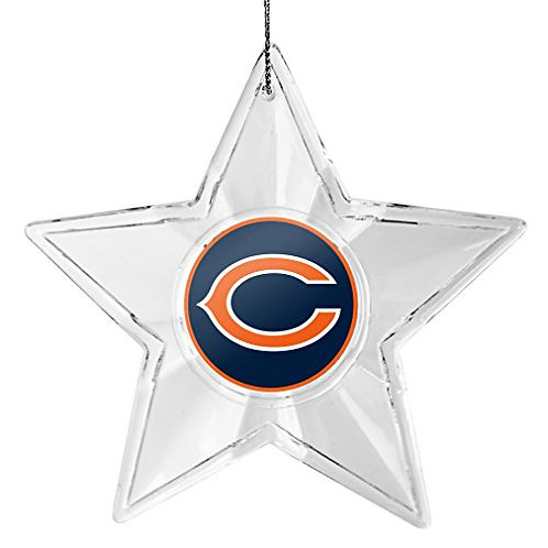 Bears Acylic Star - Cut Crystal Design Ornament