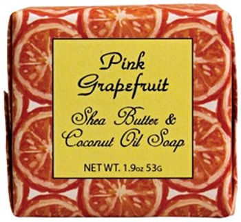 Habersham Pink Grapefruit ..... Shea Butter and Coconut Oil Soap ..... 1.9 oz.