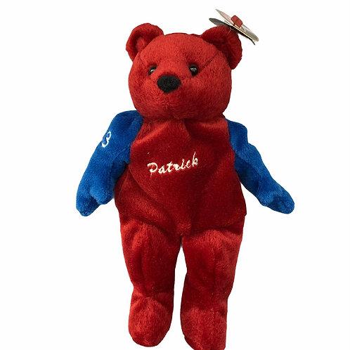 Plush Salvino's Bammers Bear ..... Patrick Roy #33