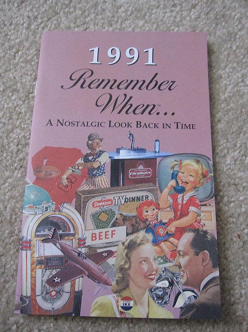 1991 Remember When Kardlet