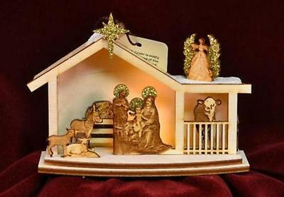 Ginger Nativity ..... Ginger Cottages Figurine / Ornament