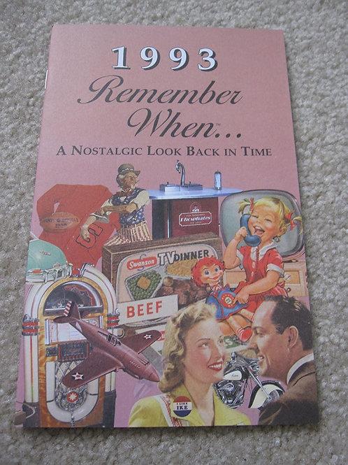 1993 Remember When Kardlet