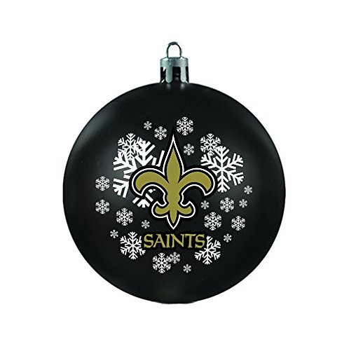 Saints Shatter-Proof Ball Ornament