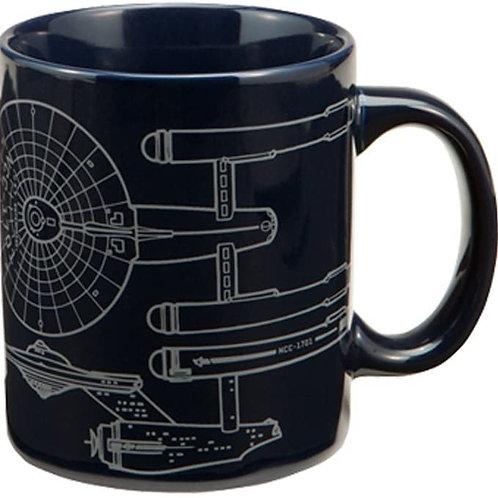 Mug Featuring the Star Trek Enterprise