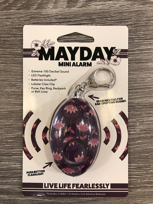 MAYDAY Mini Alarm Purple