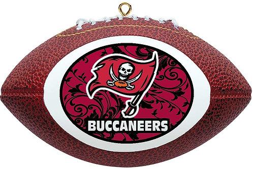 Buccaneers Replica Football Ornament