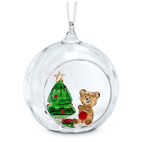 Ball Ornament with Christmas Scene