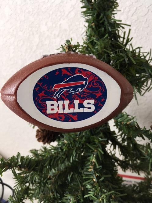 Bills Replica Football Ornament